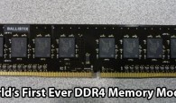 Micron is the first company who created the world's first DDR4 memory and demonstrated it in the CES conference during January 2013. The new generation of desktop/laptop memory DDR 4 […]